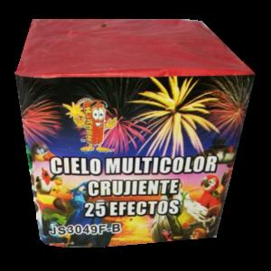 CIELO MULTICOLOR CRUJIENTE 25 efectos
